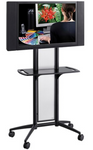 Impromptu® Flat Panel TV Cart Model # 8926BL