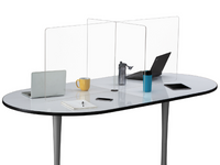 MULTI-WORKSTATION TABLETOP WELLNESS SCREEN by Safco