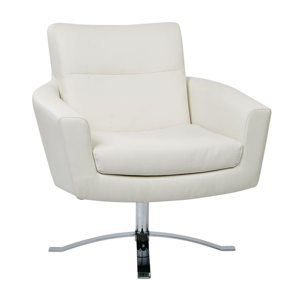 Nova Wide Chair - Faux Leather