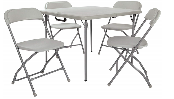 5 Piece Folding Chair and Table set