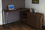 Workscape Lite L-Shape Desk with Storage Return (WE-15-5454)