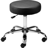 Lorell Backless Pneumatic Height Stool (LLR69513)