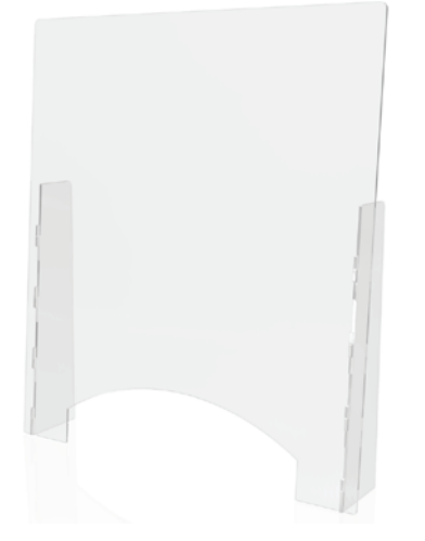 Counter Top Barrier with Pass-Thru 2 Sizes