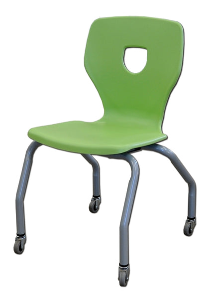 Kids chair on casters (10S-18-118-R) ALPHA