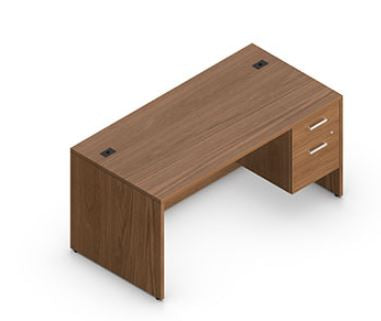 Desk Single Pedestal (5 Different Sizes)