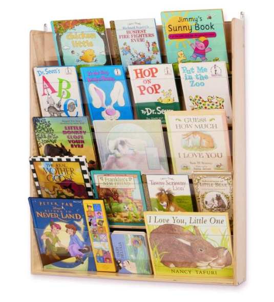 Wall Mount Book Display (WB0600)