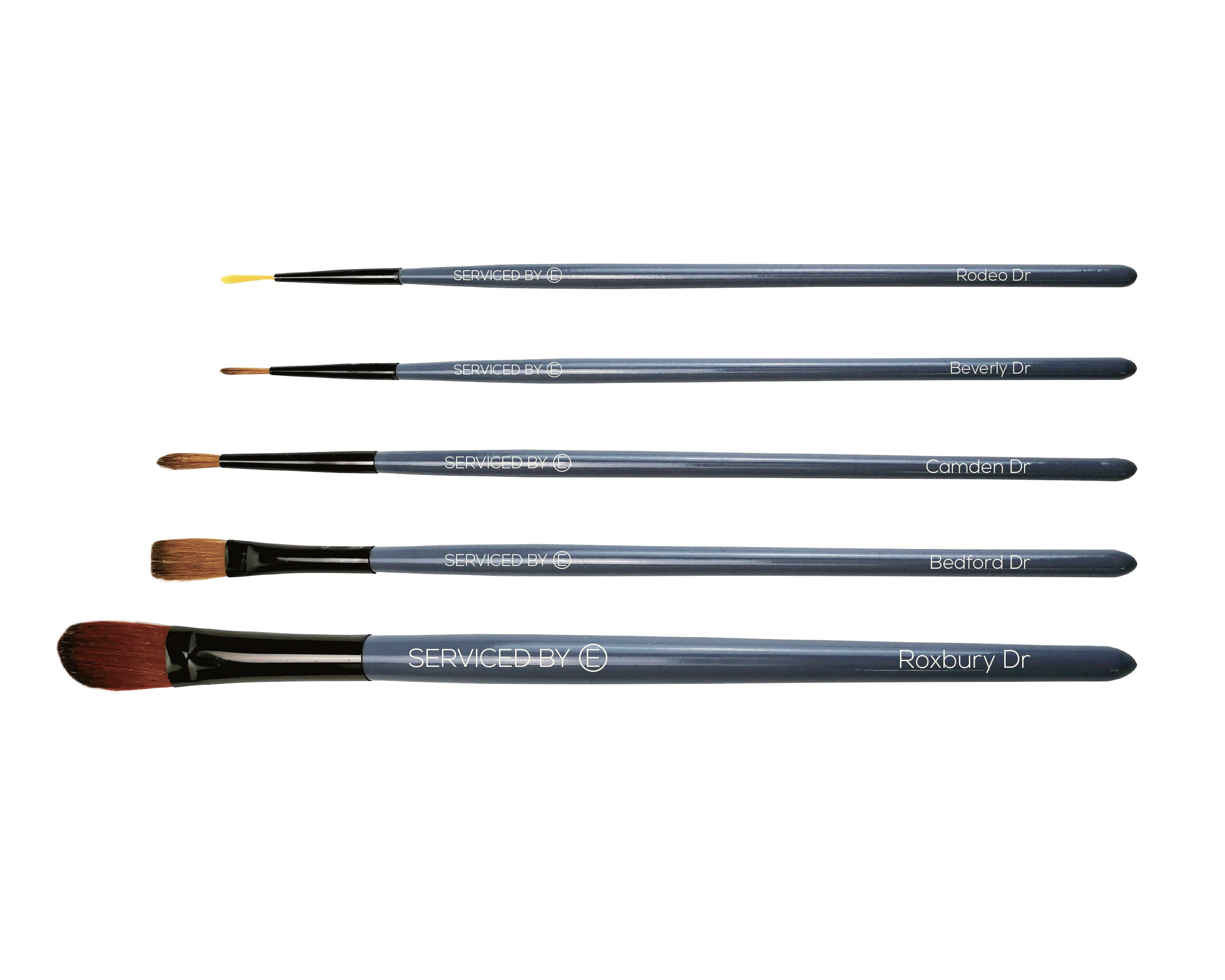 Limited Edition Beverly Hill's Edition Art Brushes with Serviced by E
