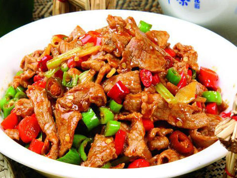 (中辣)金牌小炒黄牛 Stir-Fried Beef