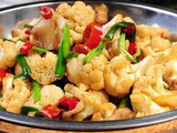 (微辣)大盆花菜 Dry-Fried Cauliflower