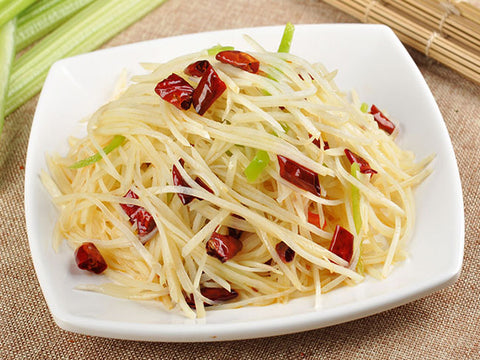 (微辣)酸辣土豆丝 Sour & Spicy Shredded Potato