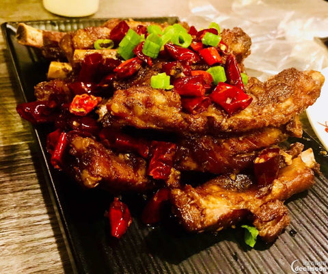 霸王火焰排骨 Fried Pork Short Rib with Cumin 辣度:★☆☆