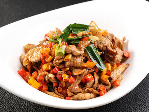 (大辣)陈坛辣椒好味鸡 Bone-in Chicken Stir-fried with Pickled Chili