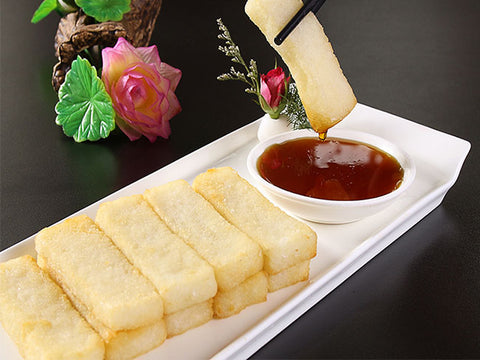 红糖糍粑 Sweet Rice Cake with Brown Sugar
