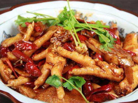 (微辣)老街凤爪 Chicken Feet with Ginger & Chili