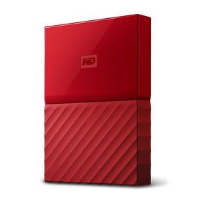 "WD MY PASSPORT 2.5"" 1TB Rojo"