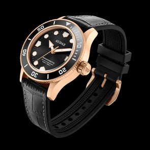 Audaz Bronzmatic Black Bronze Diver