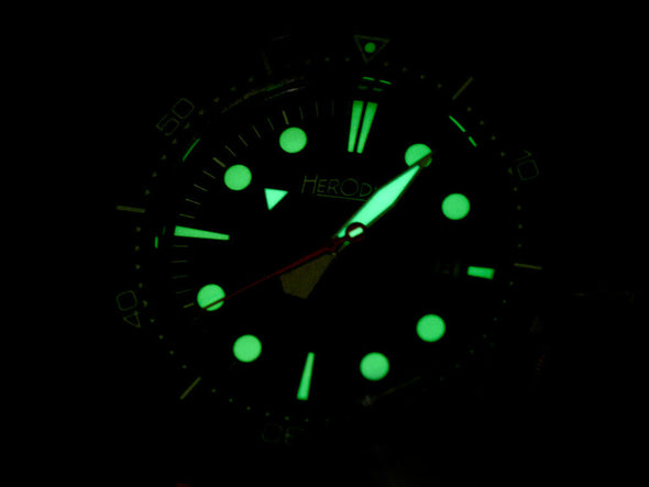 Herodia watch by Squale Lume