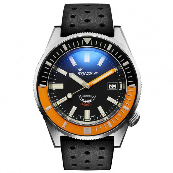 Squale Matic 60 Atmos Satin Black