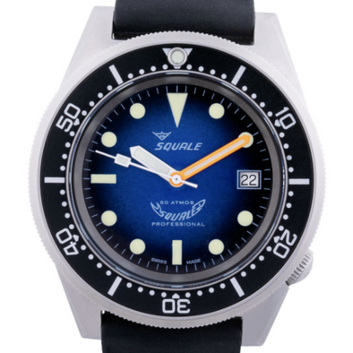 Squale 1521 Blasted Blue Soleil