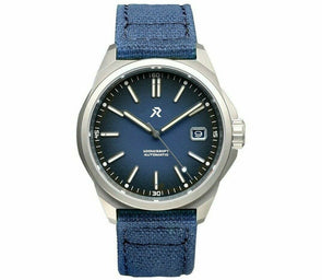 RZE Resolute Cobalt Blue Titanium Field Watch