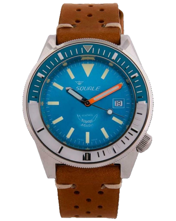 Squale Matic 60 Atmos Light Blue Lume Diver