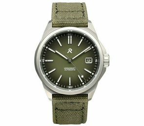 RZE Resolute Camo Green Titanium Field Watch
