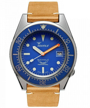 Squale 1521 Blue Blasted 50 Atmos Diver