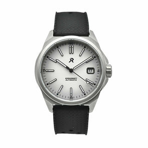 RZE Resolute Alpine White Titanium Field Watch