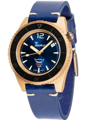 Squale 1521 Bronze Blue