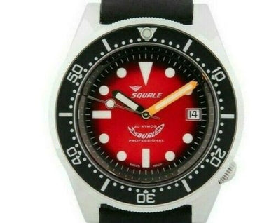 Squale 1521 Red Passion
