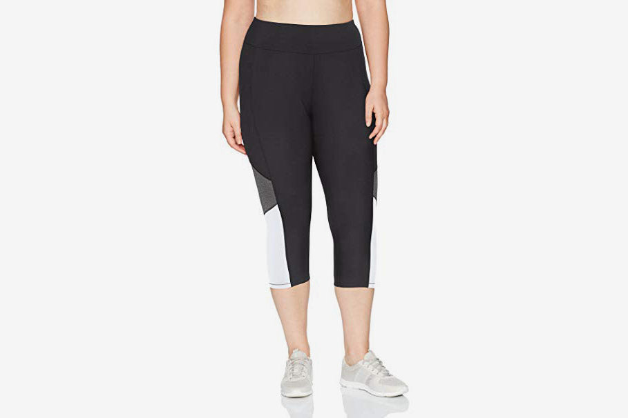 Plus Size Active Capris