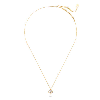 Dottilove - Necklace - Golden Eye Strass