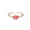 Dottilove - Ring - Alana colour ring gold