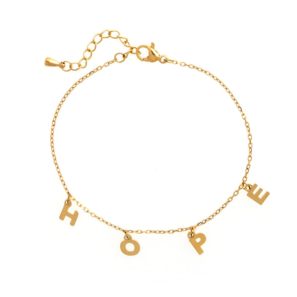 Dottilove - Bracelet - hope gold