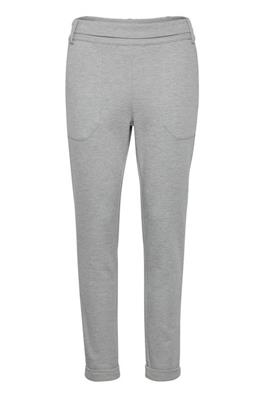Renefa Pants - Light grey melange