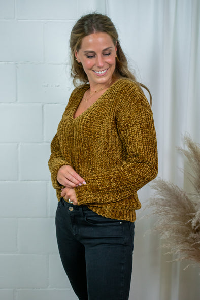 Loukia Knit - Bulce Brown