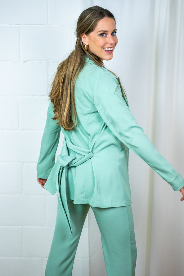 Kate Blazer - Mint Green