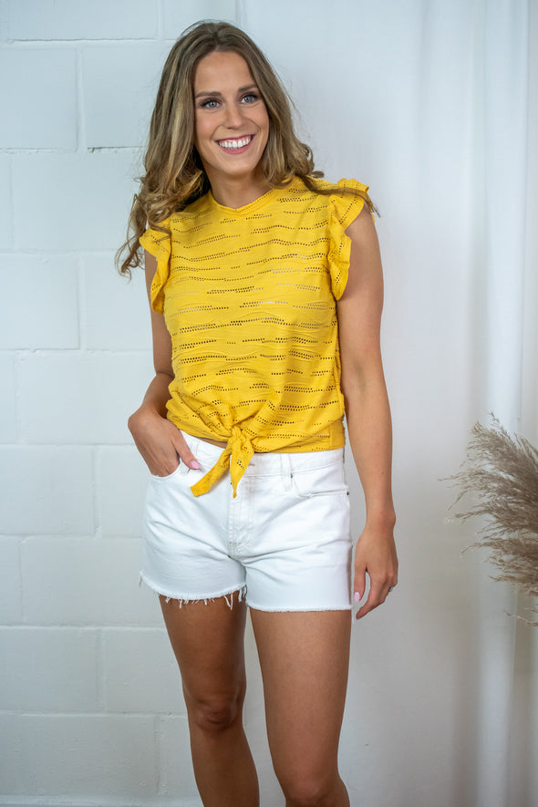 Top Esmee - Yellow