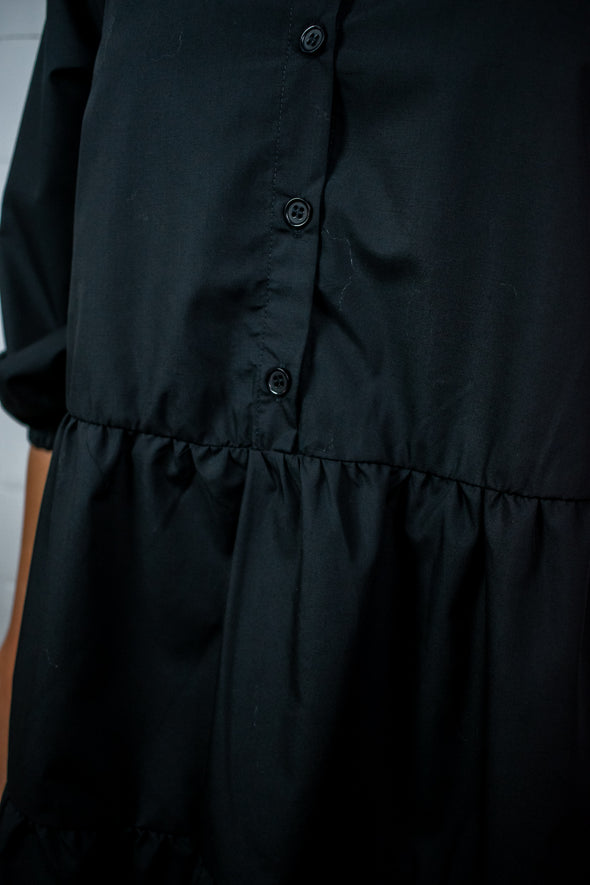 KAbeata dress shirt - Black