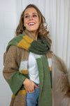 SinaCR scarf - Oil green