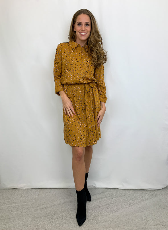 Gemina dress - Yellow Gold