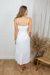 Malo dress - White