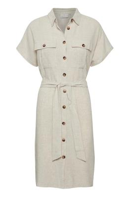 Liny shirt dress - Light sand