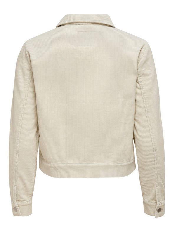 Shiraz corduroy zip jacket - Beige