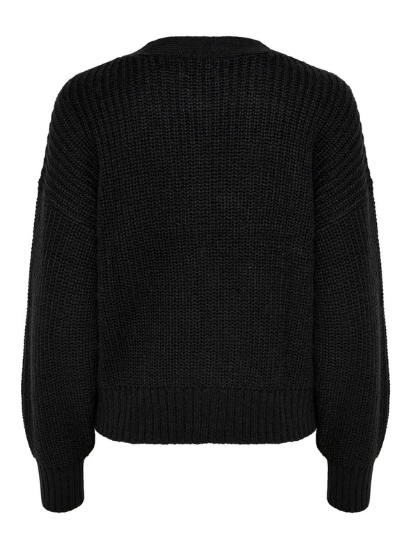 Nola cardigan knit - Black