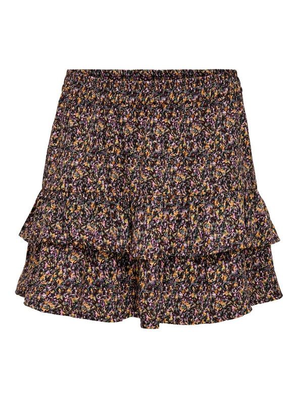 Mia skirt - Chocolate flowers