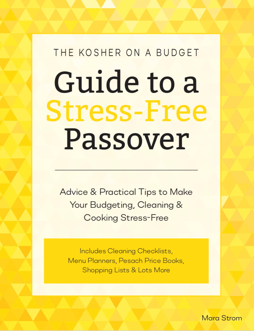 Guide to a Stress-Free Passover (Digital Download)