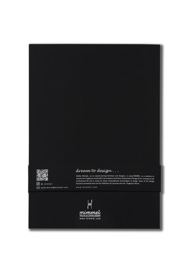 Heart ME Black Notebook