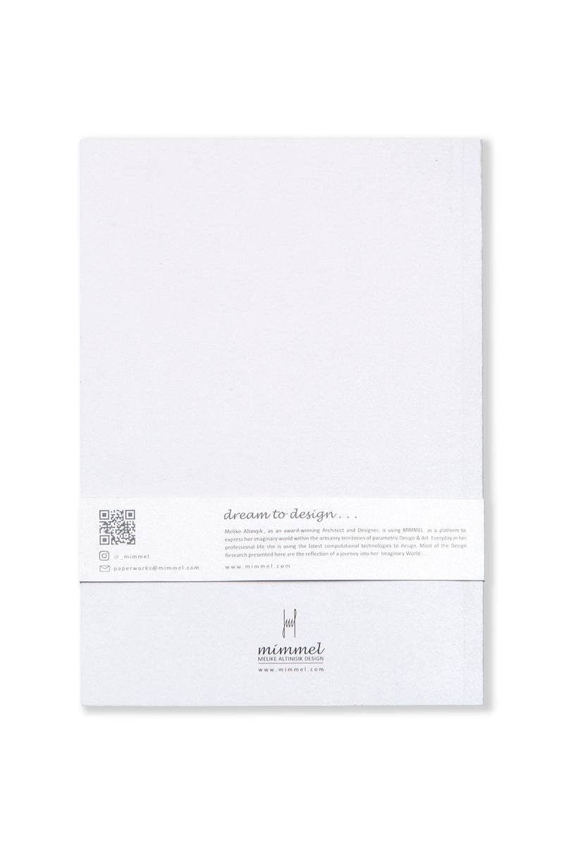 Heart ME White Notebook