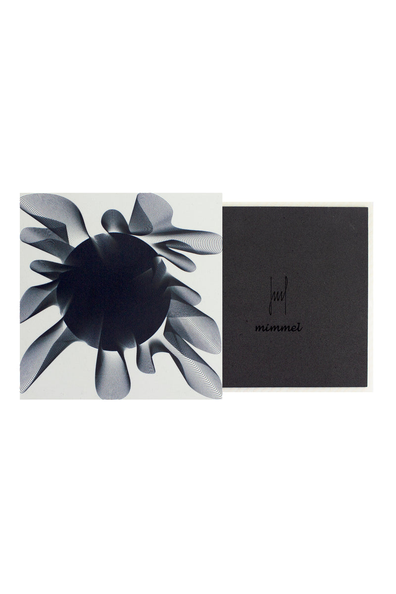 Moonlight Me Black Coasters